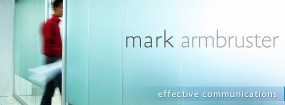 Mark Armbruster Website Header logo