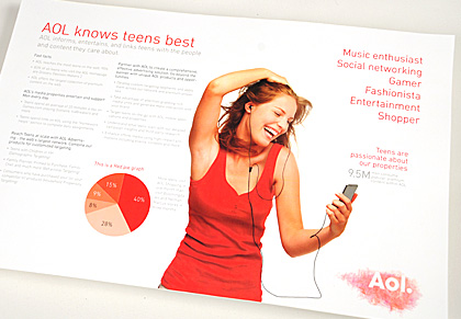 Mark armbruster collateral portfolio samples aol a3 for Sales slick template